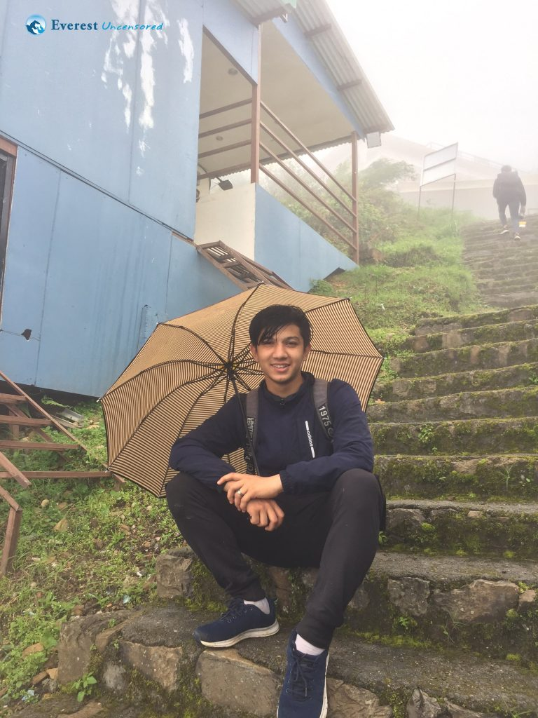 2. Taking A Breather Under The Umbrella 1